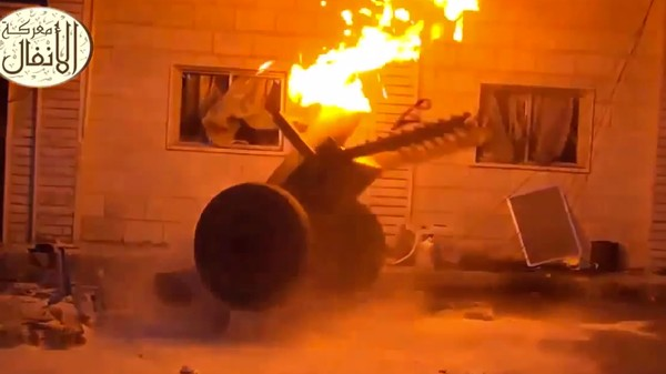 Syrian Rebels' DIY 'Hell's Cannon' Looks Like an Exploding Turkey Deep Fryer