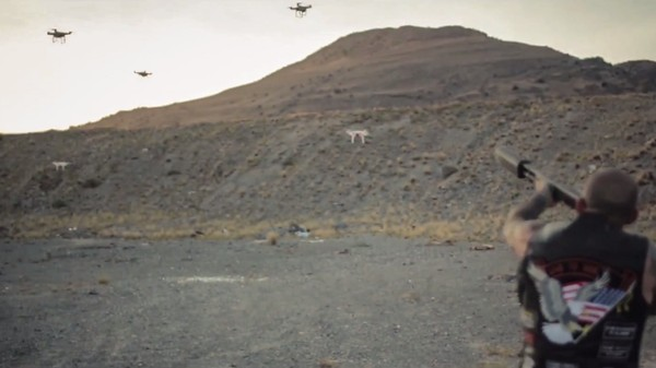 Johnny Dronehunter Does Exactly That In This Insane Shotgun Silencer Ad