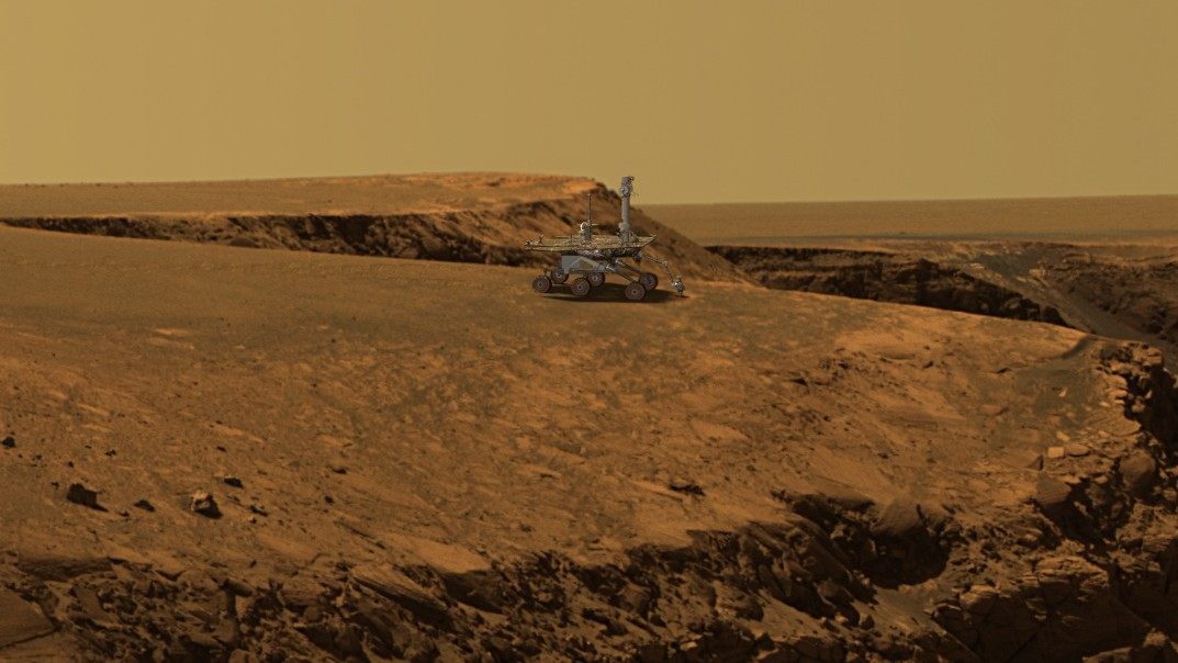 After a Decade on Mars, the Opportunity Rover Set the Off-World Driving Record