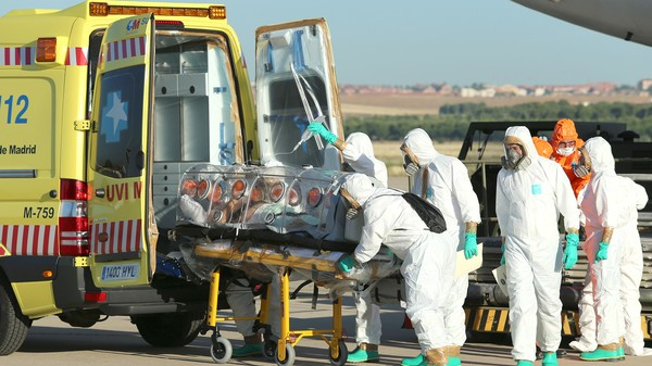 How to Quarantine Ebola Patients Being Airlifted to Safety