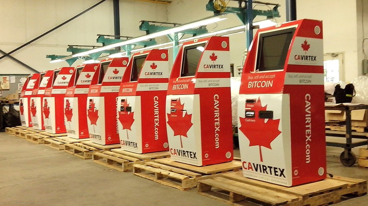 Apparently Canada Is Now the Bitcoin ATM 'Capital of the World'