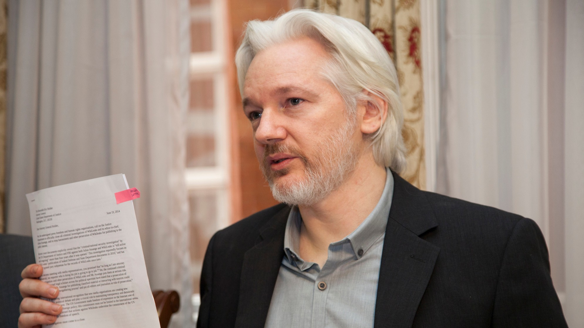 Julian Assange's Plans to Leave the Ecuadorian Embassy Have Everyone Confused