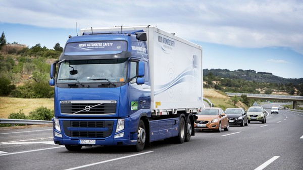 Autonomous 'Road Trains' Will Usher in the Driverless Future