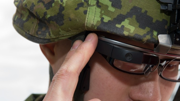 Of Course Canada's New Data-Driven Soldiers Will Have Google Glass