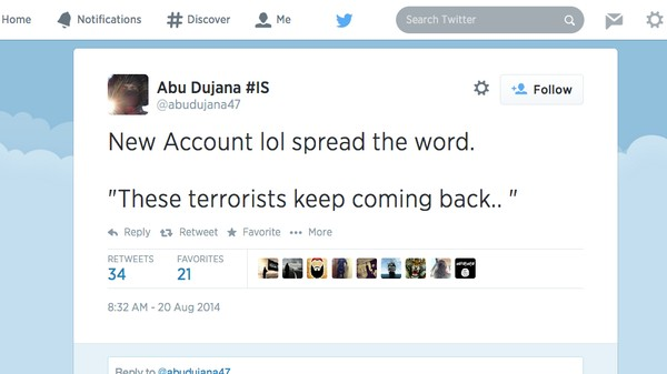 Banning Islamic State Jihadists From Twitter Is Like Playing Whack-a-Mole