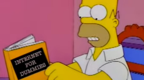The Misery of Watching the Simpsons on the Internet