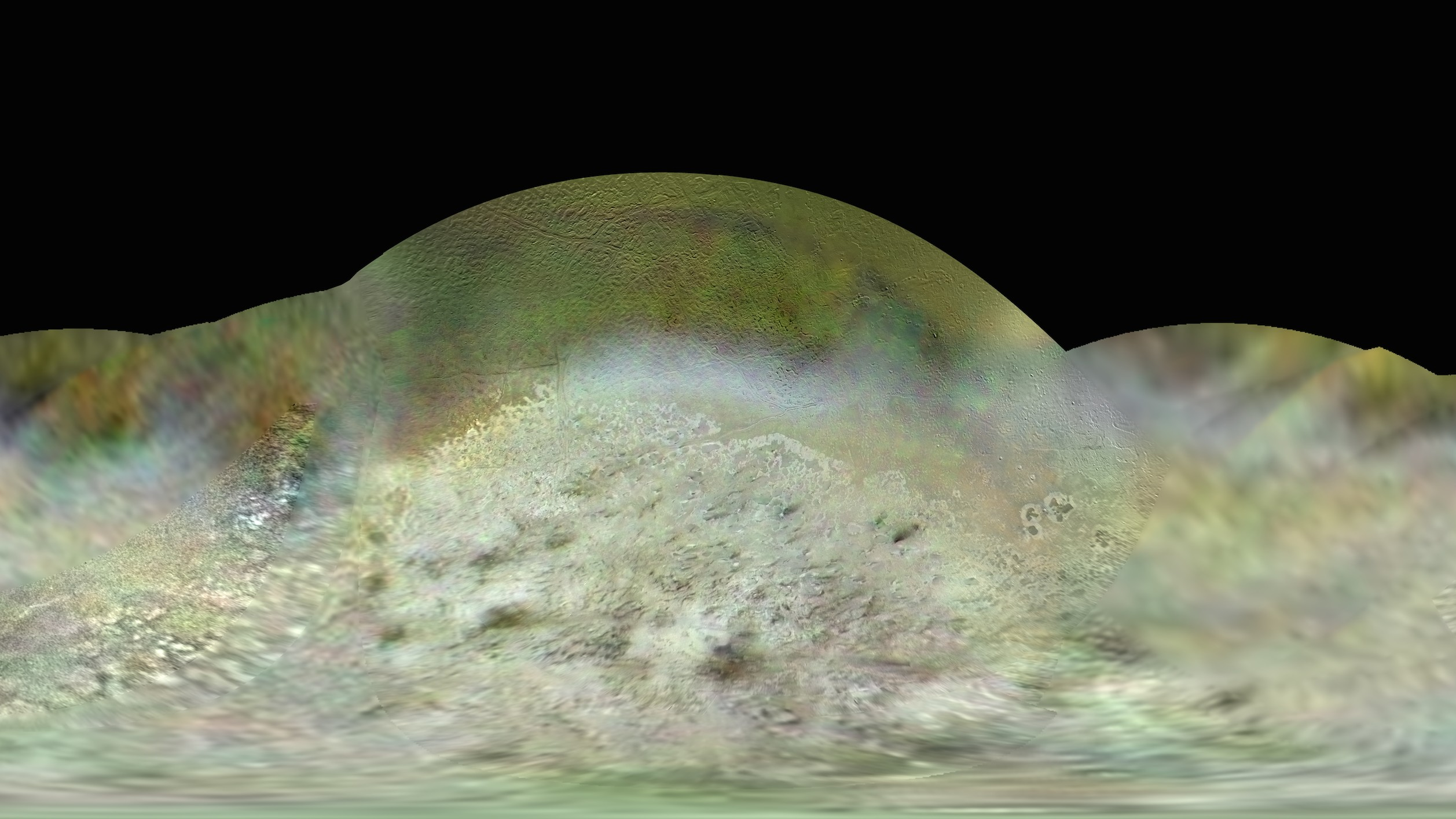 This Is the Best Map Ever Made of Neptune's Icy, Volcanic Moon Triton