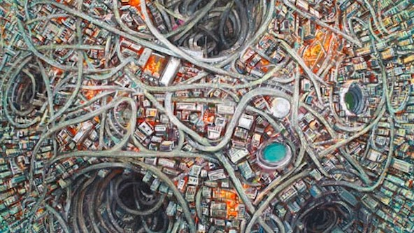 An Artist's Renderings of Our Future Cities (If Everything Goes Wrong)