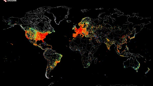 How to Make a Map of Everyone Using the Internet Right Now