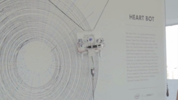 This Robot Draws Pictures to the Beat of Your Heart