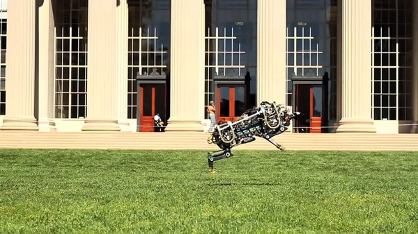 MIT's Robot Cheetah Can Run and Jump as Quietly as a Ninja