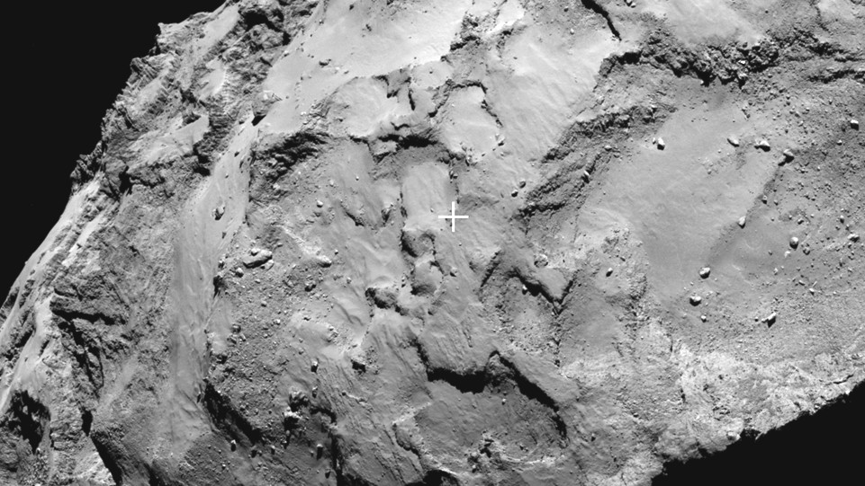 Here's Where the Comet-Hunting Rosetta Spacecraft Plans to Harpoon Its Prey