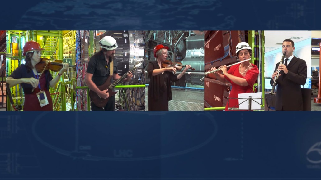 The Symphony of Particle Smashing, as Performed by CERN Scientists