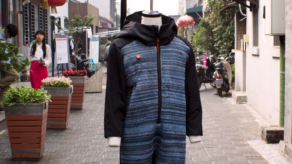 The Air-Cleaning Onesie That Could Help Fight Beijing's Pollution