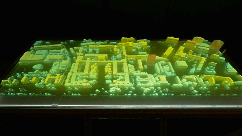 MIT Researchers 3D Printed a Scale Model of the College to Visualize Big Data