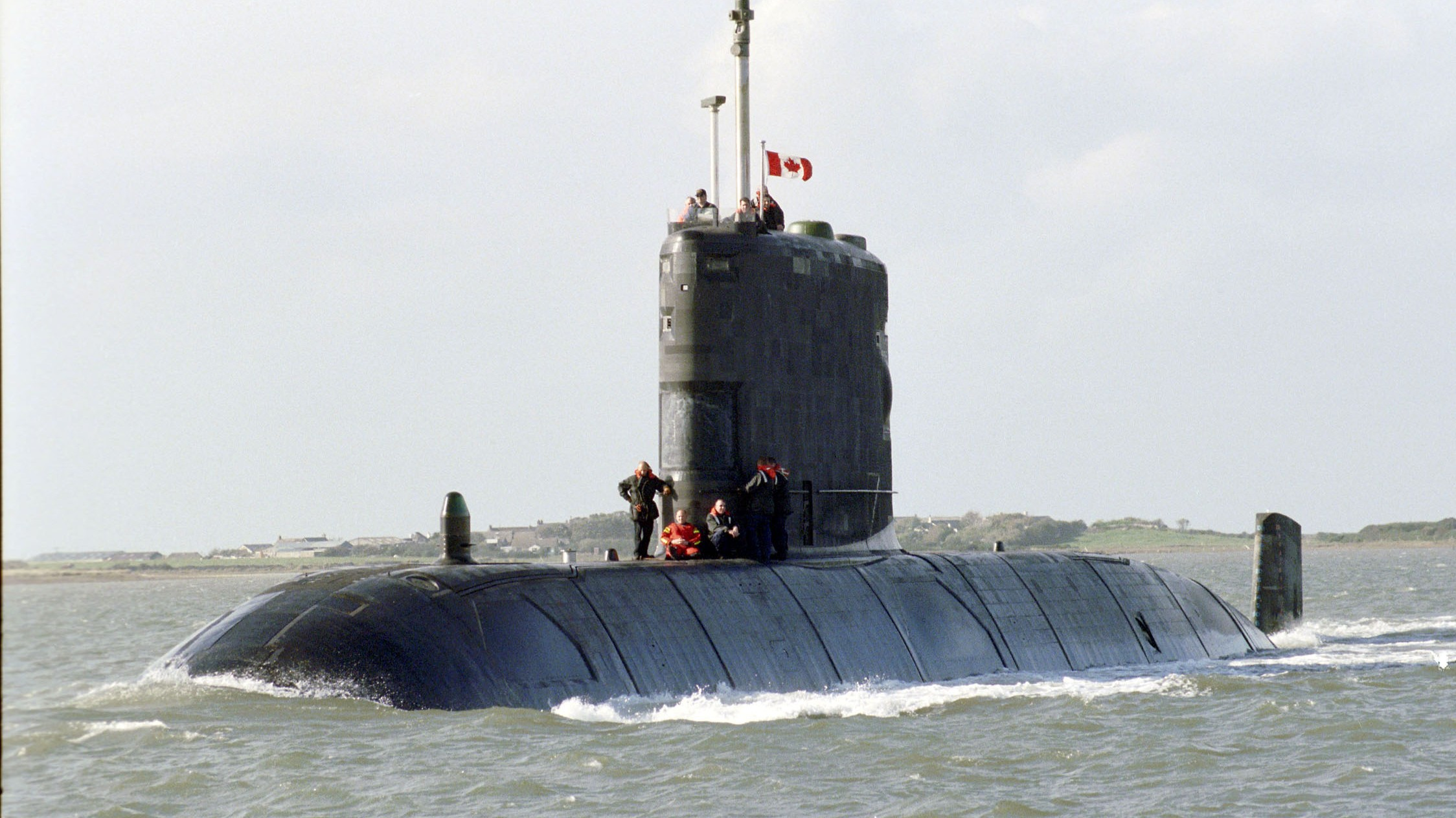 Canada Is Still Using Shitty Hand-Me-Down British Submarines