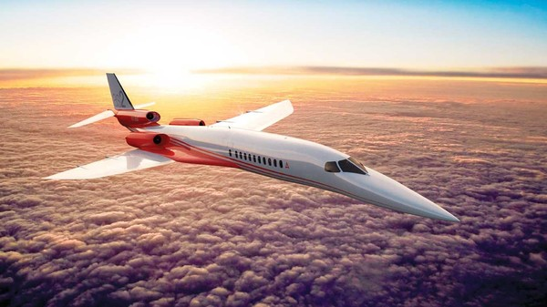 If You're Ultra-Rich and Often Late, You Might Want Aerion's New Supersonic Jet