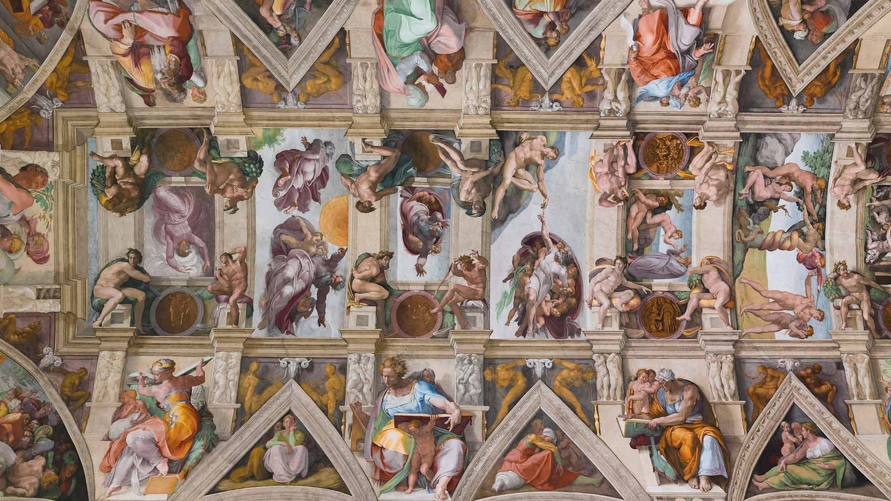 The Sistine Chapel Got an LED Upgrade