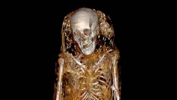 Researchers Sure Love Putting Mummies in CT Scans