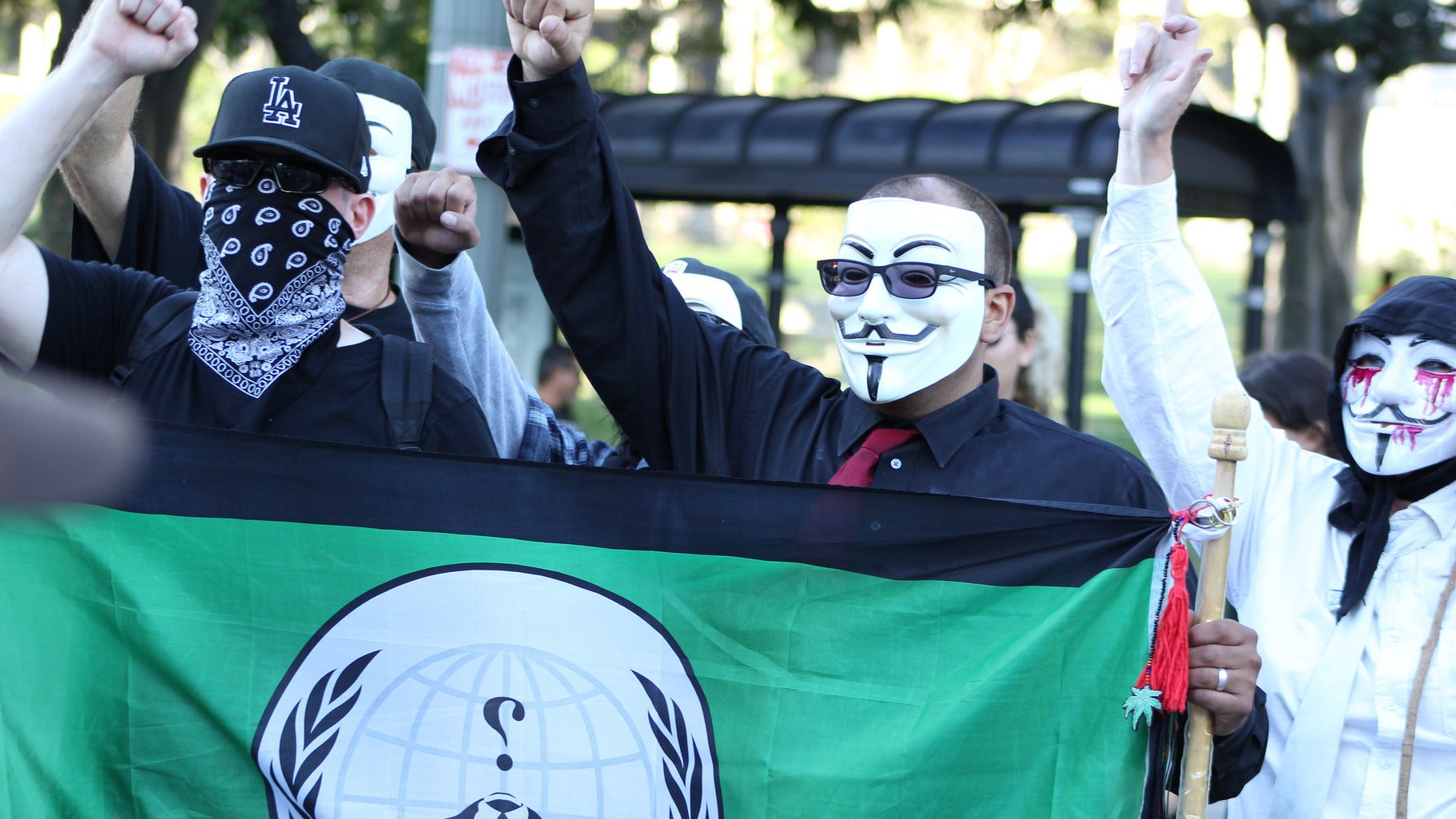 Anonymous Is Attacking the KKK After Threats to Ferguson Protesters