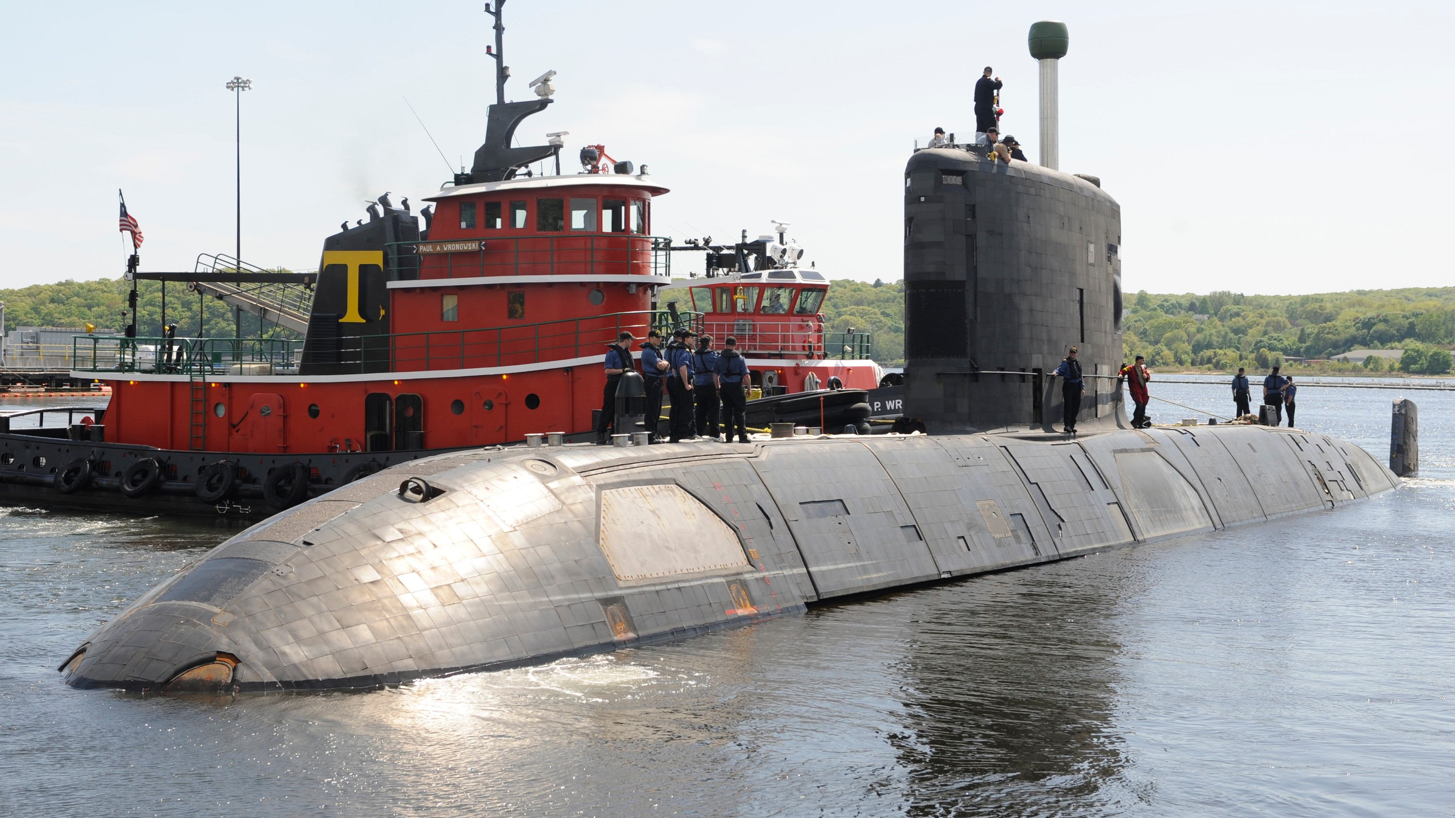 Canada Wants 'Submarine Escape Training' For Its Shitty Subs