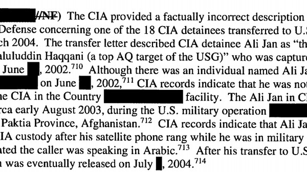 The CIA Detained an Innocent Man for a Year Because He Owned a Satellite Phone