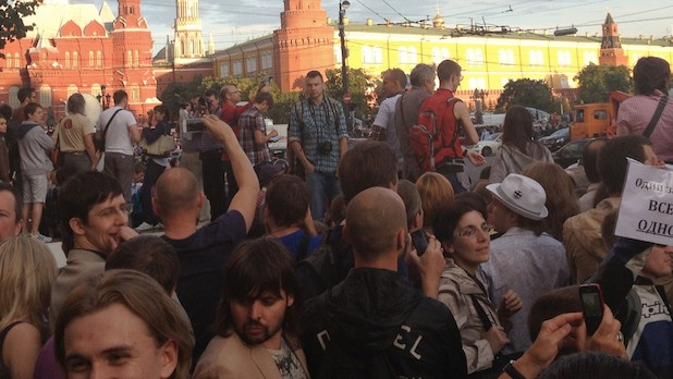 Twitter Helped Russia Censor Information About an Anti-Putin Protest