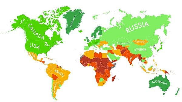 The Nations Most Likely to Survive Climate Change, Mapped