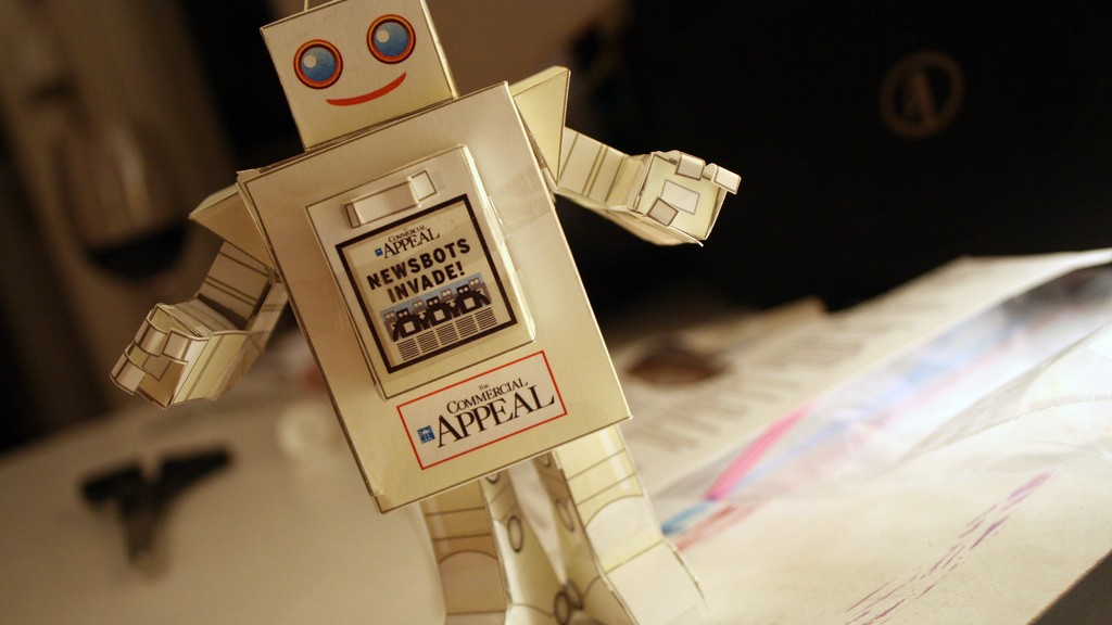 Robot Reporters Will Write News Tailored to You