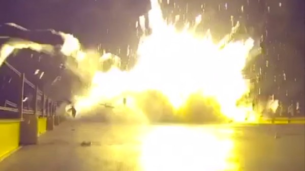 Watch This Vine of SpaceX's Rocket Crashing and Exploding