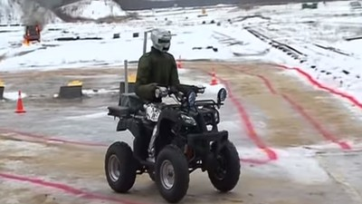 Russia's New Combat Robot Is Basically a Glorified RC Car with Guns