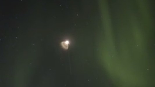 Here's What It Looked Like When NASA Shot a Rocket into The Northern Lights