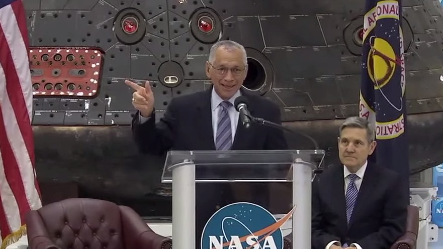 NASA Reminds Congress that Earth Is Also a Planet in Space