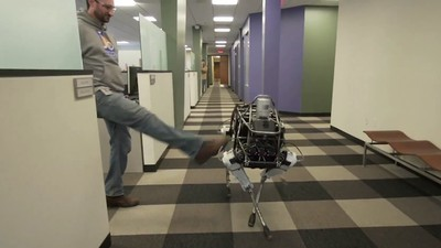 People Can't Stop Kicking Robots