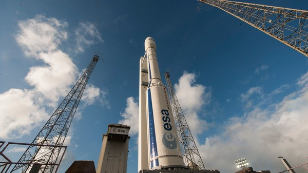 An Experimental Vehicle Is About to Launch into Space, Then Splash Down to Earth
