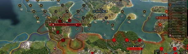 42 Artificial Intelligences Are Going Head to Head in 'Civilization V'