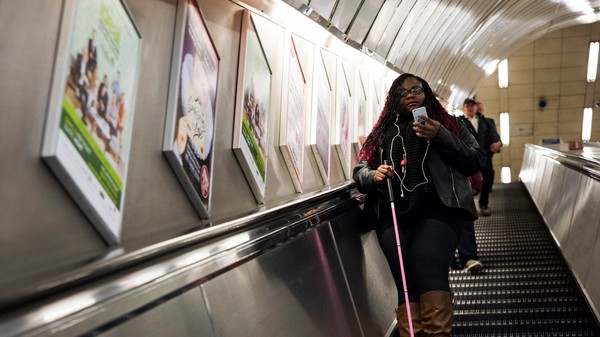 This App Helps Blind People Navigate London's Tube by Sound