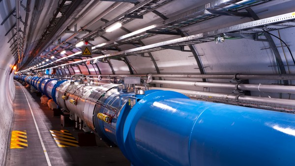 The World's Most Powerful Particle Accelerator Is Going After Dark Matter