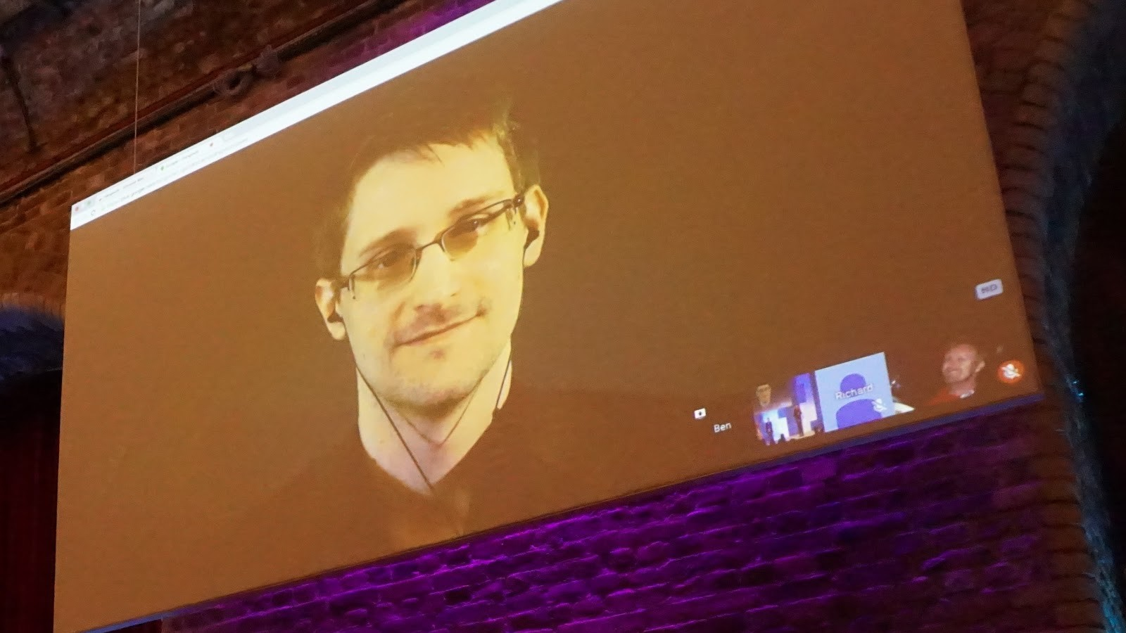 Snowden at FutureFest: Mass Spying Isn't Going To Stop the Next Terror Attack