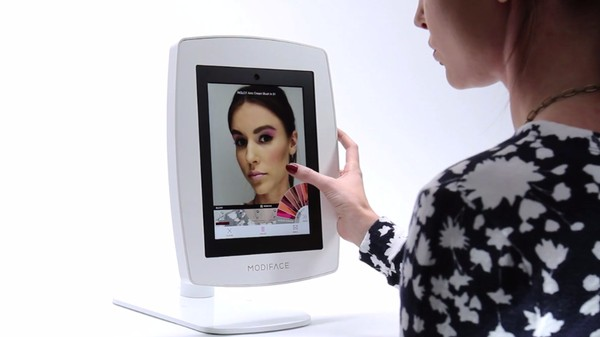 This Magic Mirror Reflects Your Face, With Kim Kardashian's Makeup