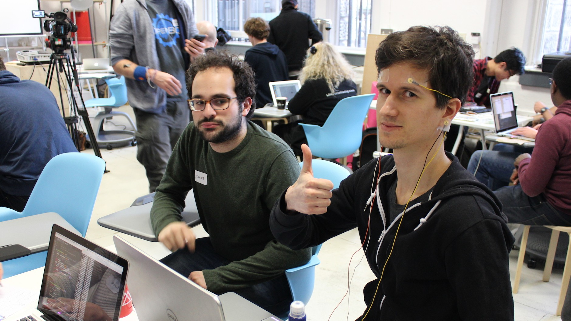 Inside a Brain Hackathon: Hacking Brain Waves to Extend the Mind