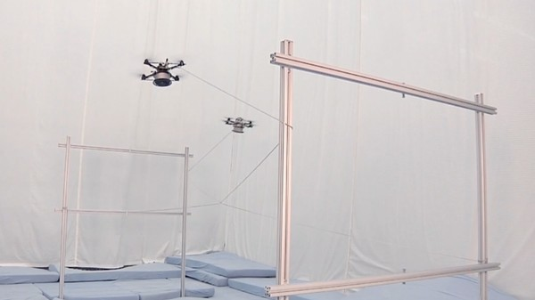 Watch These Drones Act Like Flying Spiders and Weave Together Structures
