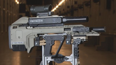 Here's the Canadian Military's Futuristic Prototype Smart Rifle