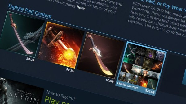 Whoa, Valve Just Monetized Mods
