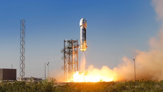 Look Out, Elon: Jeff Bezos's Space Company Just Launched a Rocket
