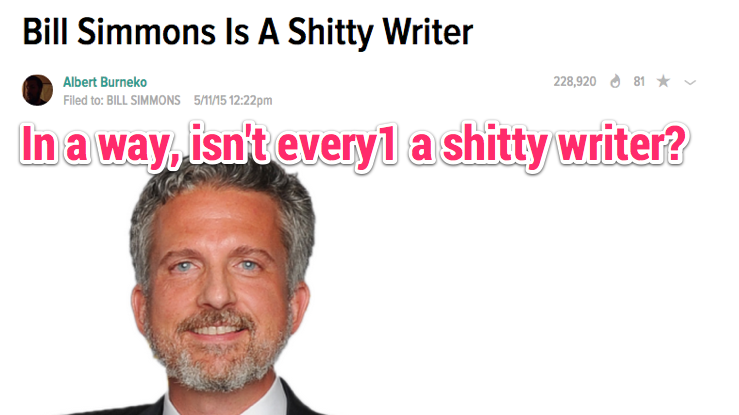 Life After Content Farming: the Transcendence of Bill Simmons