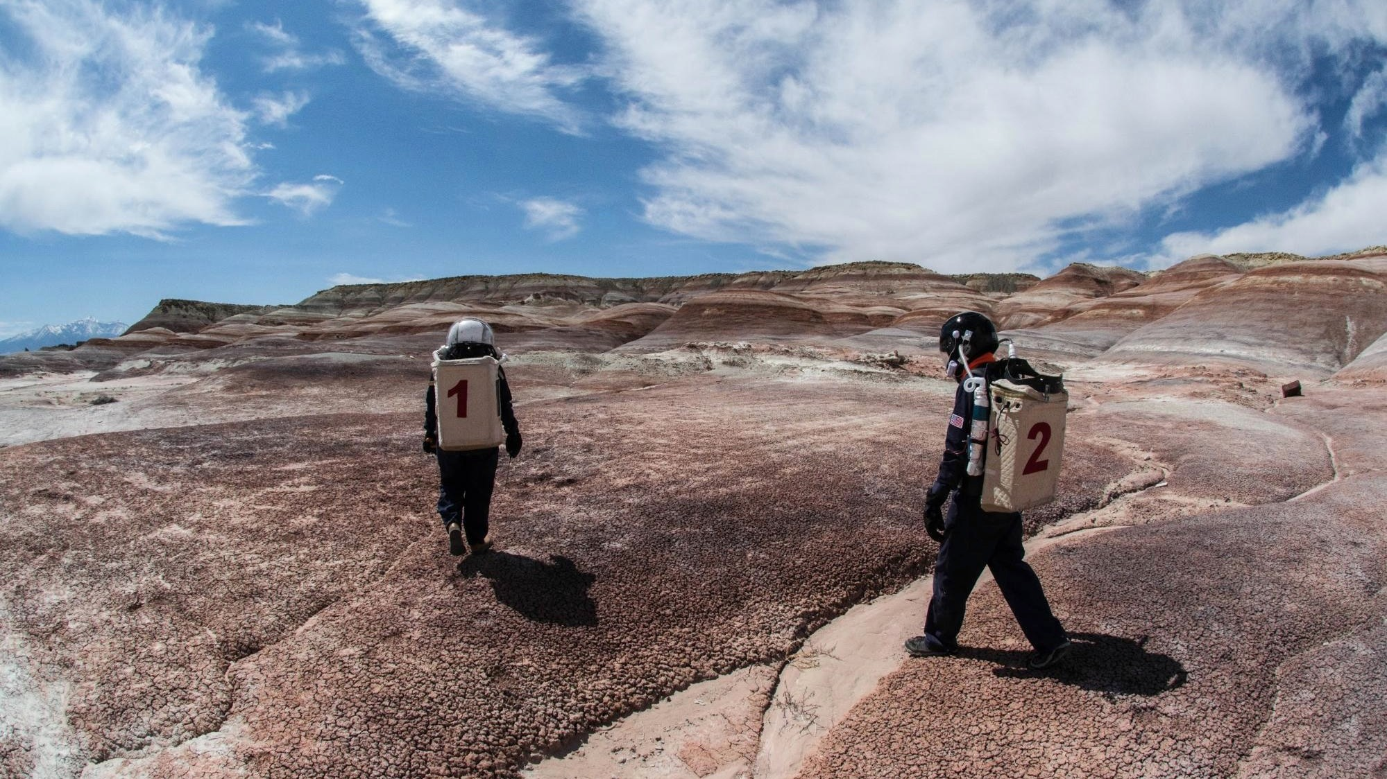 Would-Be Martians Are Roaming the Utah Desert