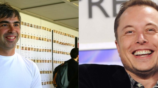 Elon Musk and Larry Page Have the World's Weirdest Friendship