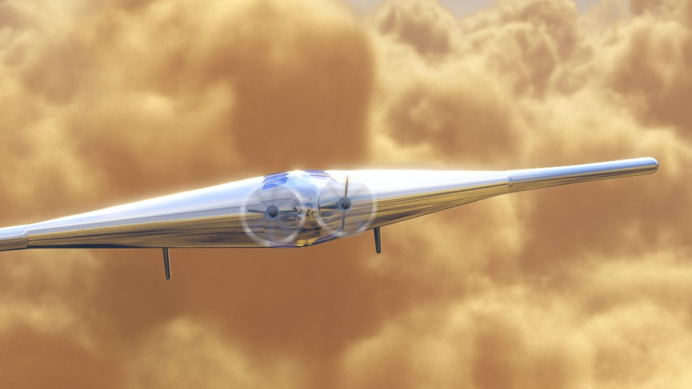 The Inflatable Plane That Would Float Like a Leaf Through Venus's Atmosphere