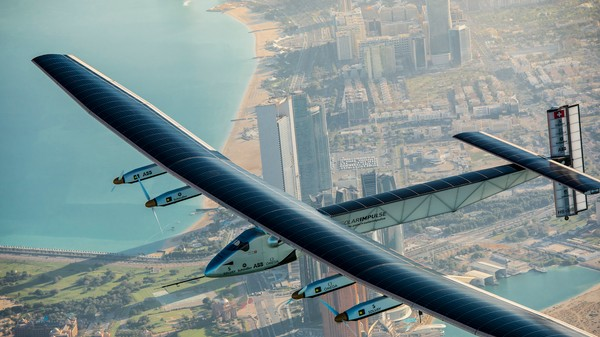 Solar-Powered Plane Forced to Land Due to Cloudy Skies on Round-the-World Trip